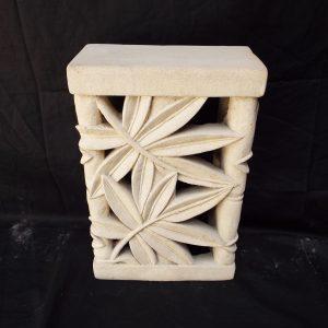 Bambuszlevél mintás fali lámpatest