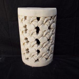 Hibiszkuszvirágos fali lámpatest