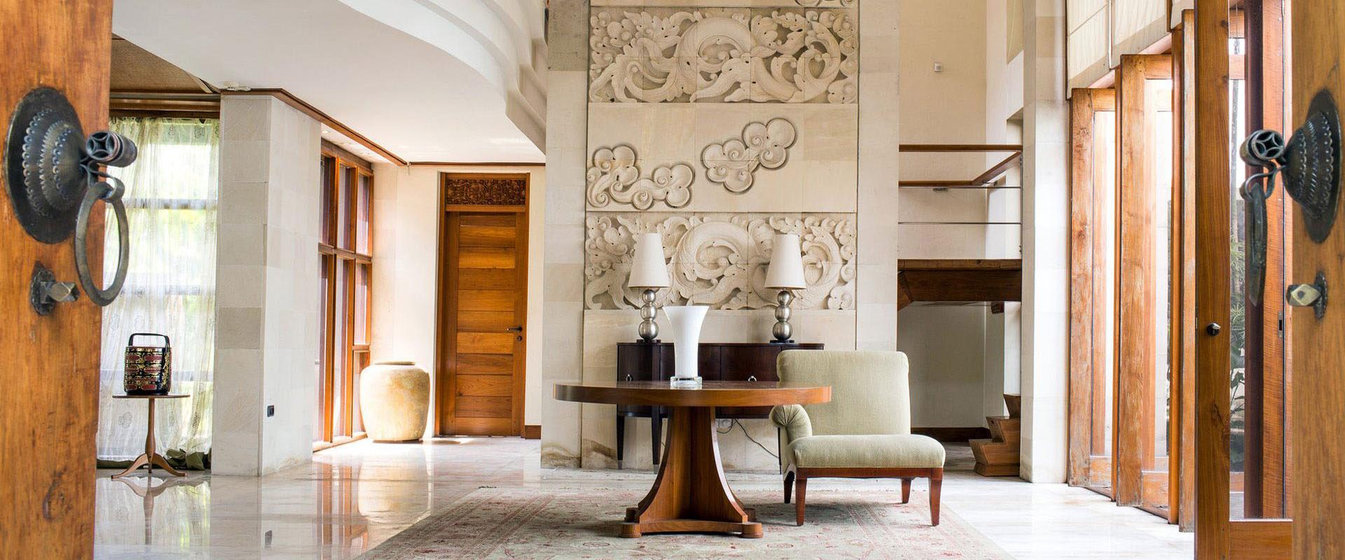 Bali style interior design