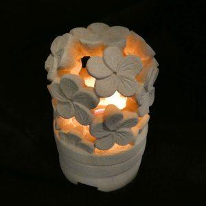 Frangipani virágos mécsestartó