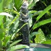 Balinéz múzsa vízköpő