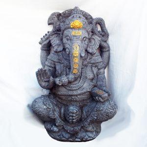 Ganesha – arannyal díszítve