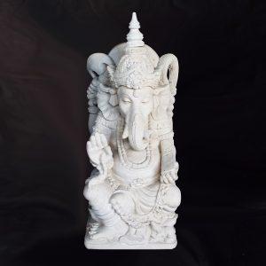 Fehér Ganesha