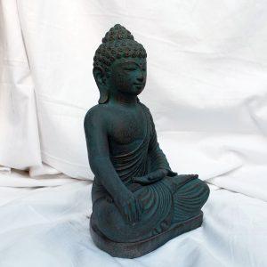 Zöld-arany ébredő Buddha