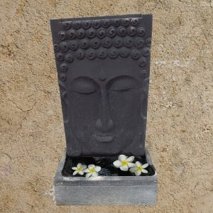 Buddha fekete vízfal