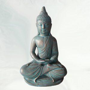 Mosolygó buddha - türkizes árnyalat