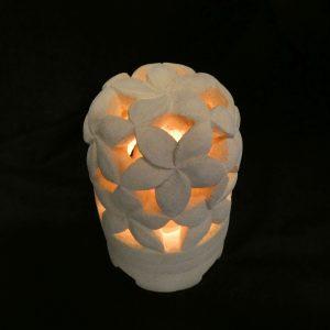 Csillag frangipani mécsestartó